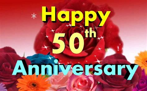 Golden Jubilee Wedding Anniversary Wishes For Parents by 50th Wedding Anniversary Wishes And Messages Wishesmsg