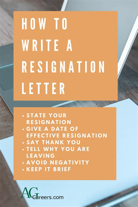 teacher resignation letters examples resignation letter template