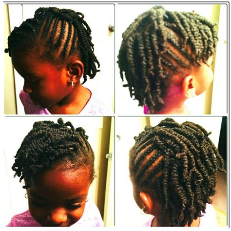 mowhawks with two strand twists down the middle 26 best natural hairstyles for little girls images on