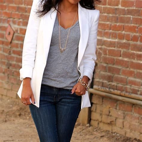 10 Ways To Wear A Blazer A Guide From Your Favorite by Stylist Tips 10 Ways To Wear A White Blazer Rushton