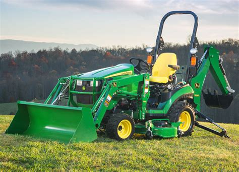 deere landscapes locations deere 1025r tlb sub compact utility tractor for sale