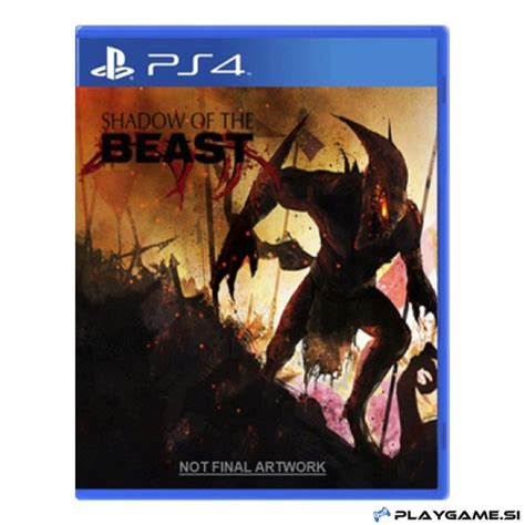 Kaset Ps4 Shadow Of The Beast shadow of the beast ps4