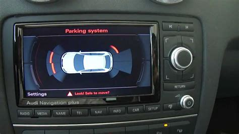 Audi Parking System by Audi A3 Optical Parking System Ops Youtube