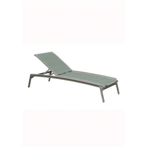 armless chaise lounge chair tropitone 461132dp elance duplex sling chaise lounge