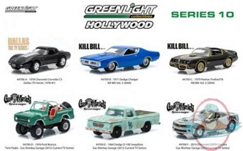 Greenlight Seri Gas Monkey Garage 1976 Ford Bronco 1 64 scale series 10 set of 6 by greenlight