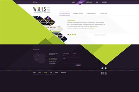 design inspirations company web layout by nonlin3 on deviantart