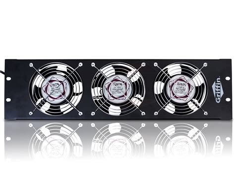 rack mount cooling fans studio rackmont cooling fan 3u exhaust studio equipment