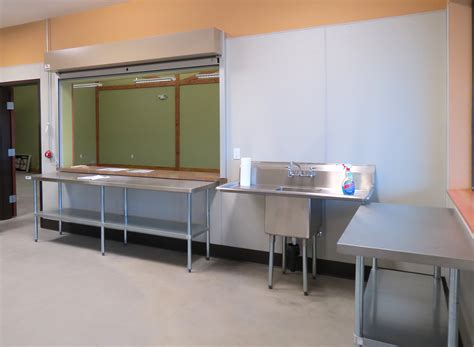 commercial kitchen blue mountain station