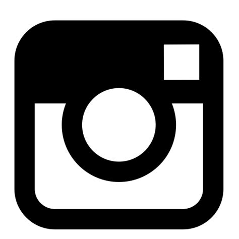 Black Instagram Icon Free Black Social Icons | black instagram icon free black social icons