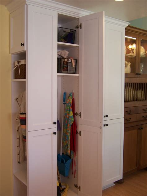 kitchen broom cabinet opinion pantry cabinet with broom closet roselawnlutheran