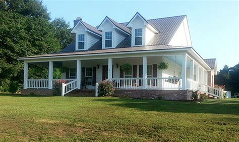 1 story farmhouse plans with wrap around porch ideas