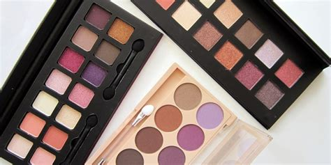 City Color Shadow Palette 3 city color eyeshadow palettes review swatches