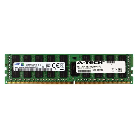 Memory Hp Samsung 16gb ddr4 2133mhz samsung 16gb module lenovo thinkserver td350