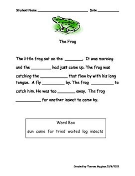 Cloze Reading Worksheets by 15 Best Cloze Activities Images On Cloze