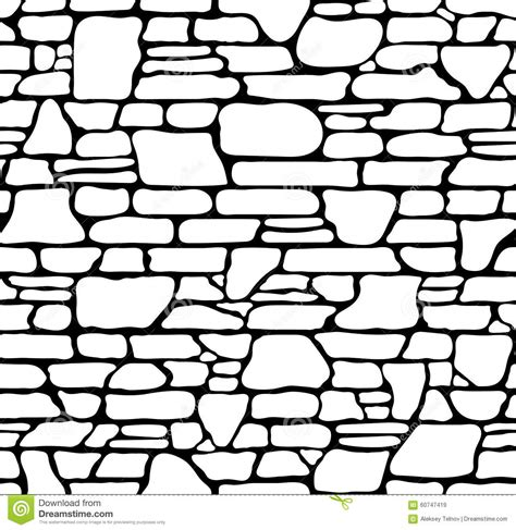 rock pattern drawing drawn brick stone wall pencil and in color drawn brick