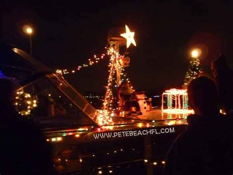 st pete beach boat parade lighted boat parades near st pete beach fl