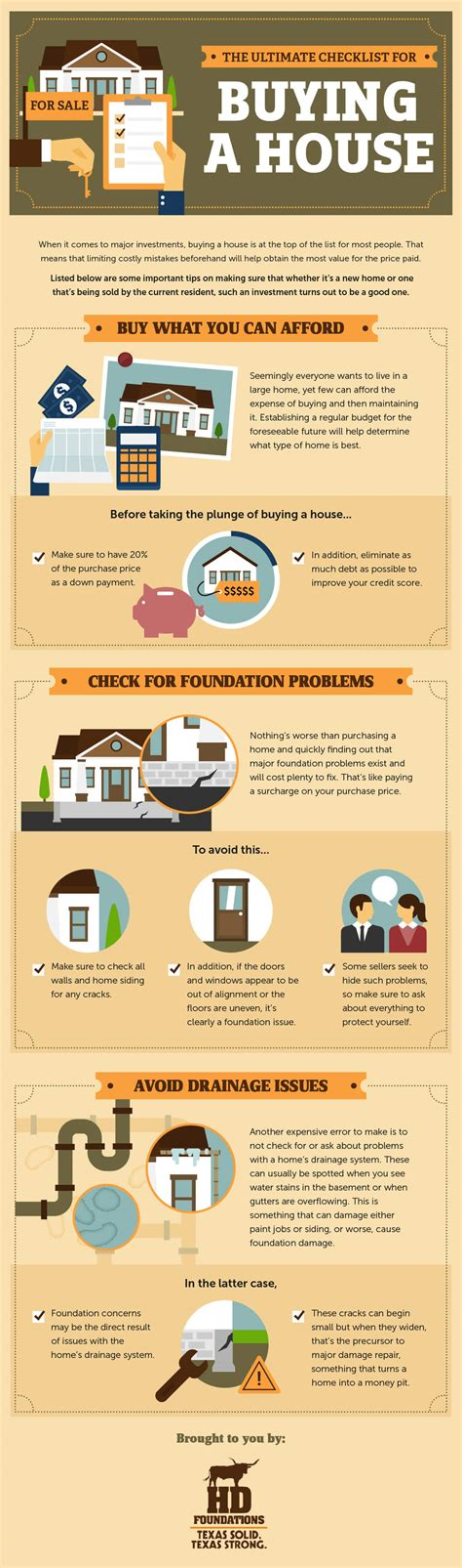 buying a house checklist the ultimate checklist for buying a house infographic