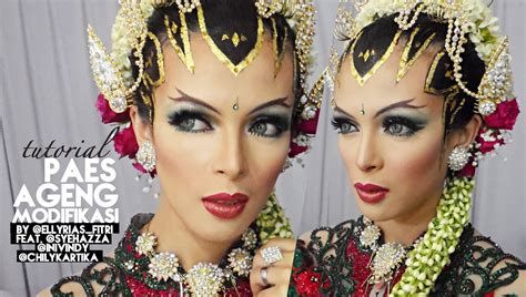 video tutorial make up pengantin indonesia tutorial makeup sanggul pengantin paes ageng modifikasi