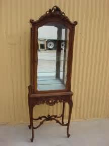antique curio cabinet antique provincial display cabinet china cabinet