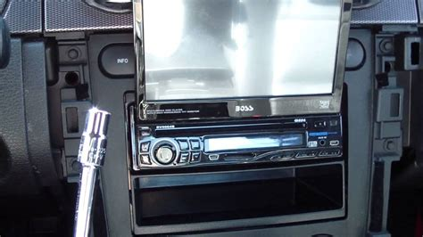 how to install tv in car how to remove install add car radio stereo in a ford