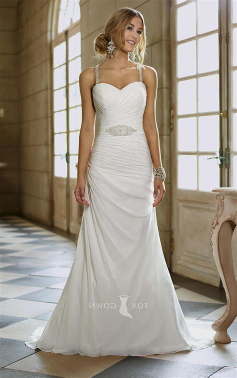 Sweetheart Dresses by Sweetheart Wedding Dress With Straps Naf Dresses