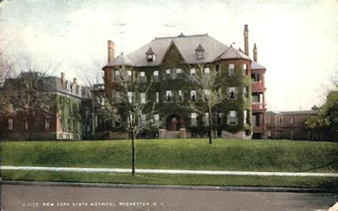 Rochester Records Rochester State Hospital