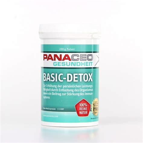Basic Detox by Panaceo Basic Detox Pulver Zur Unterst 252 Tzung Im Darm