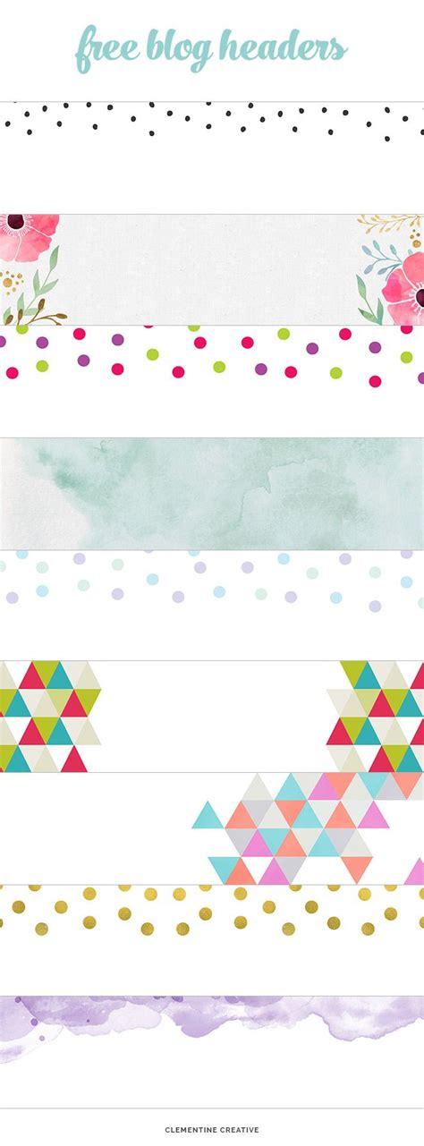 design header for blog best 25 blog headers ideas on pinterest watermark