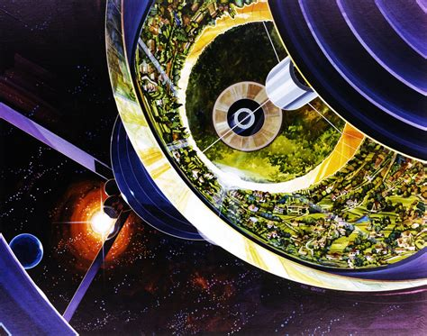 design world definition this 70s artist painted our future in space science friday