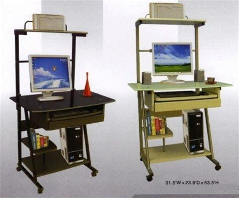 Small Portable Computer Desk New Small Portable Computer Laptop Desk Table Cart