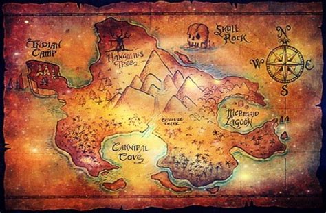 neverland map welcome to seanchai libraries november 2012