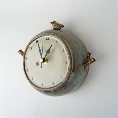 Handmade Ceramic Wall Clocks - 29 best images about ceramic clocks on