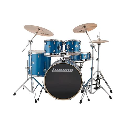 Bluss Set ludwig lcee22023 element evolution 5 drum set blue sparkle finish and more 4 drum