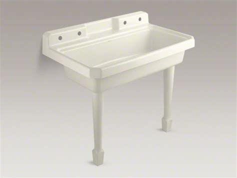 kitchen utility sink kohler harborview tm top mount or wall mount utility sink