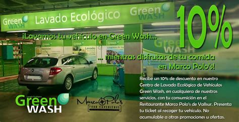 green wash promociones