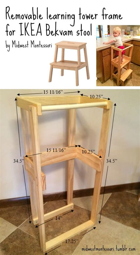 Kitchen Helper Safety Tower Step Stool by 25 Best Ideas About Learning Tower On
