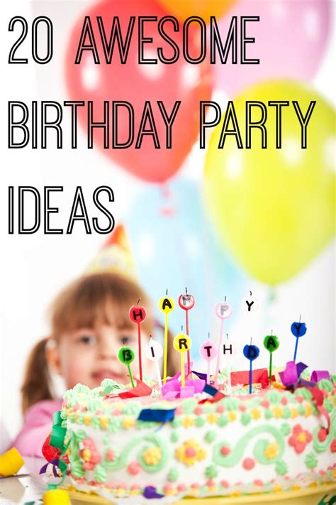 Kitchen Themes Decorating Ideas by 20 Awesome Birthday Party Ideas For Kids