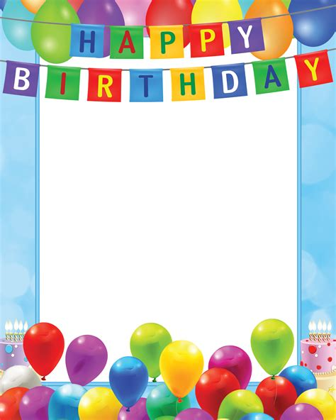 picture frame birth day card template pin by hector alejandro pe 241 a barajas on a