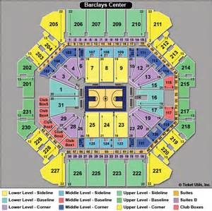 barclay center floor plan brooklyn nets tickets 2014 2015 schedule ticketcity