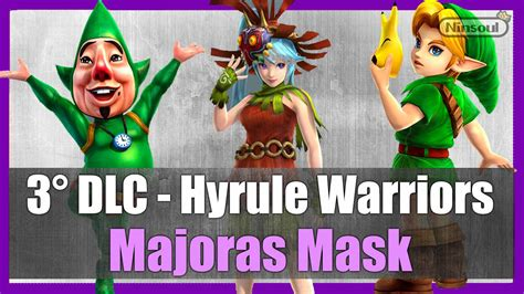 Mask Packs Novi hyrule warriors dlc majora s mask pack gamehall