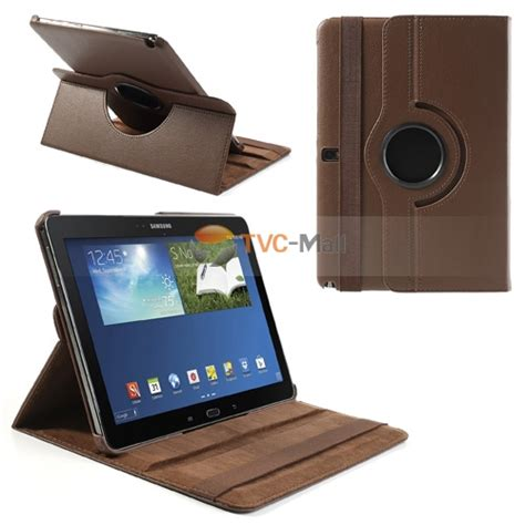 Samsung Note 10 1 2014 P600 Flip Rotary Leather Sarung Casing for samsung galaxy note 10 1 2014 edition sm p600 protective litchi leather w 360 rotary