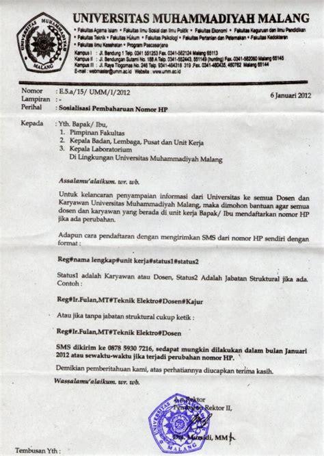 contoh surat tugas koleksi dokumentasi the knownledge