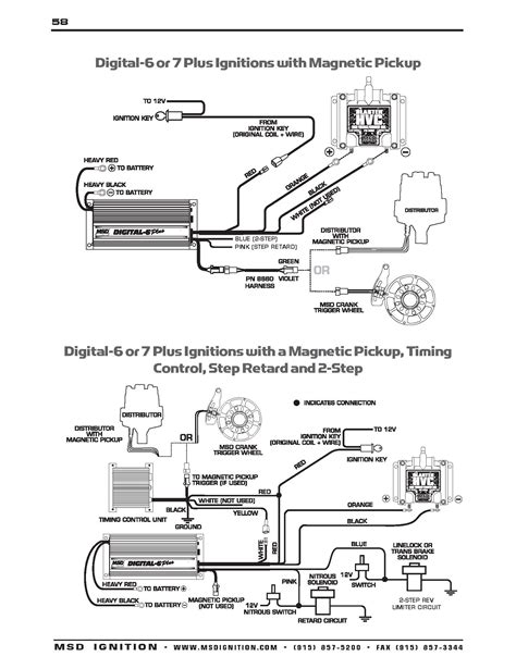 wiring diagram for msd digital 6 plus wiring get free