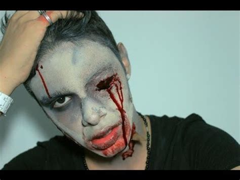 tutorial maquillaje zombie youtube maquillaje tutorial de halloween zombie youtube