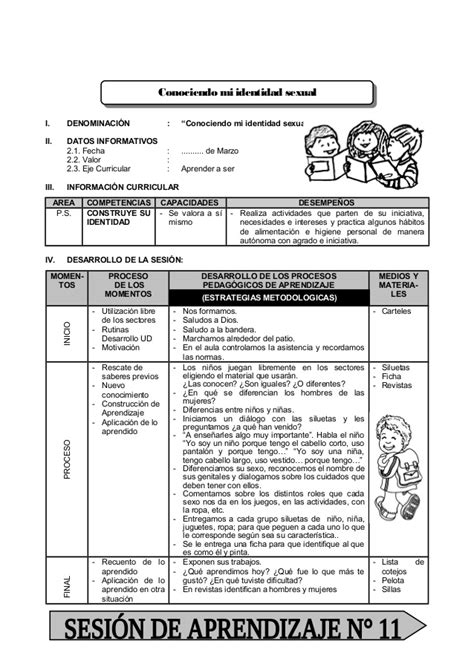 Minedu Sesiones De Aprendizaje Modelos De Municipio Escolar | modelo de sesion de aprendizaje municipio escolar primaria
