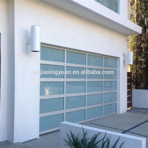 Aluminum Frosted Glass Garage Door Prices Lowes Buy Cost Of Glass Garage Doors