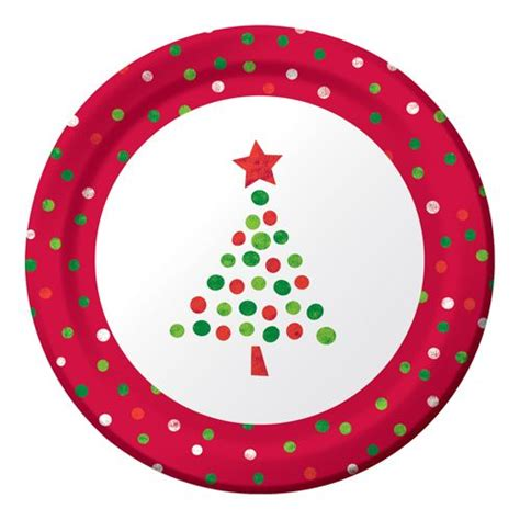 christmas tree plate christmas pinterest
