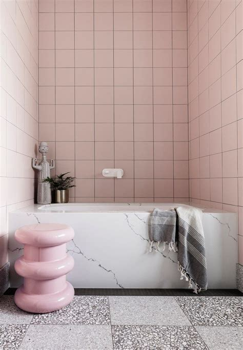 millennial pink bathrooms     splash