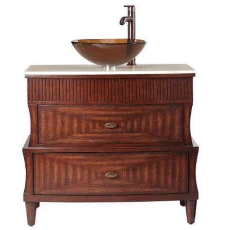 home depot home decorators vanity home decorators collection fuji 35 in vanity in walnut