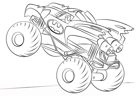 hot wheels monster truck coloring pages monster truck hot wheels 2 coloring page free coloring